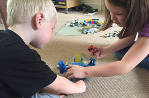 Kids and LEGO